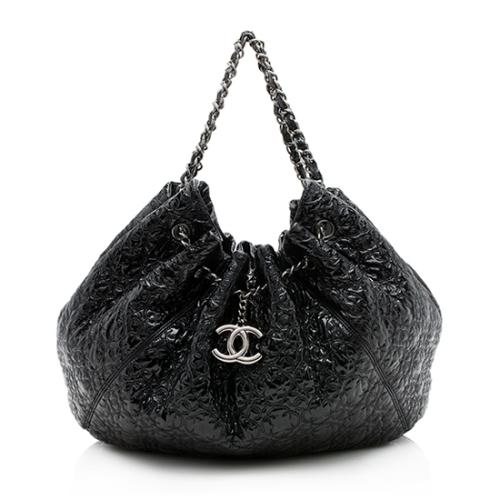 Chanel Quilted Patent Vinyl Rock in Moscow Cabas Tote