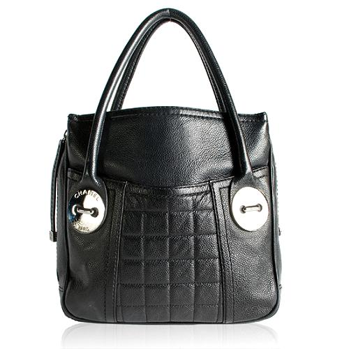 Chanel Quilted Satchel Handbag