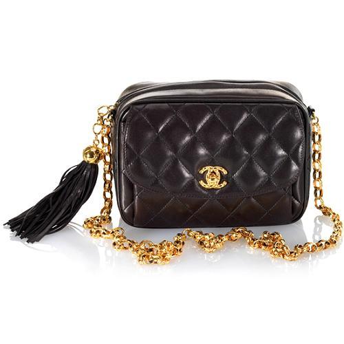 Chanel Quilted Shoulder Handbag