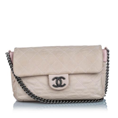 Chanel Leather Medium Flap Bag