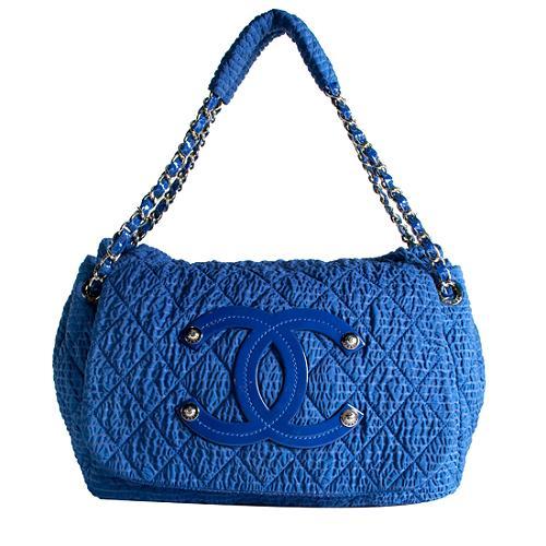 Chanel Sac Class Rabat Shoulder Handbag