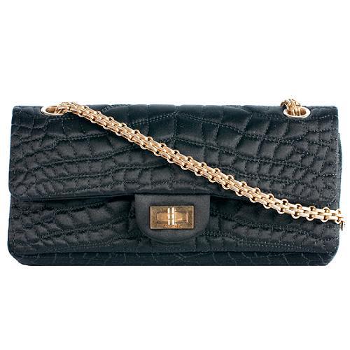 a6524e90b881 Chanel-Satin-Croc-Embroidered-Double-Flap -Reissue-255-Shoulder-Handbag-_41993_front_large_1.jpg