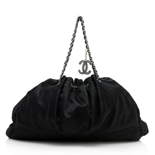 Chanel Satin Melrose Cabas Tote