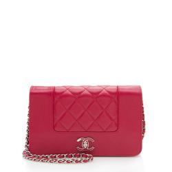 Chanel Sheepskin Mademoiselle Vintage Wallet on Chain Bag