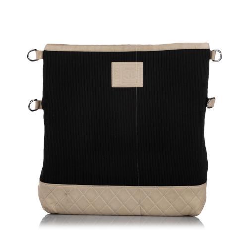 Chanel Sports Line Cotton Shoulder Bag