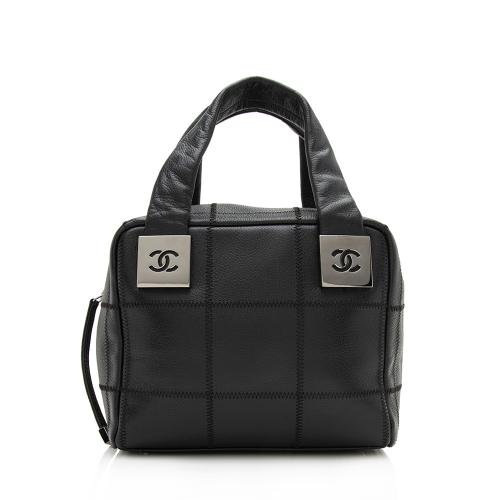 Chanel Square Quilted Leather Small Satchel