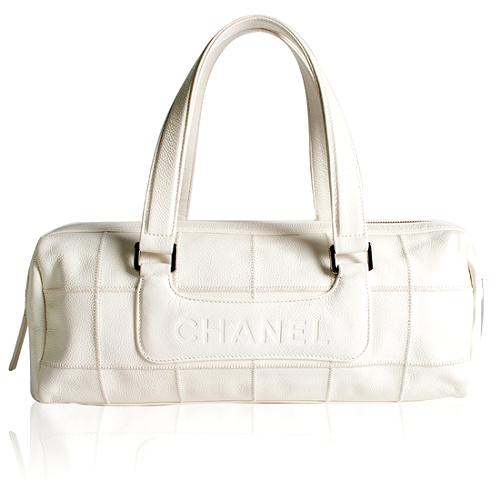Chanel Square Quilted Satchel Handbag