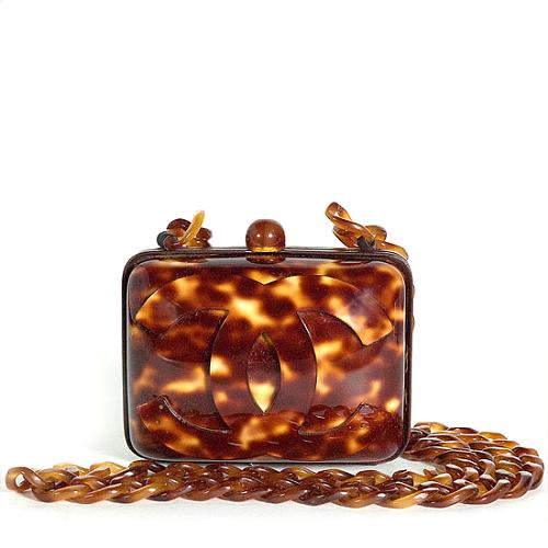 Chanel Tortoise Shell Handbag