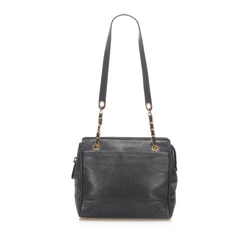 Chanel Triple Coco Caviar Shoulder Bag