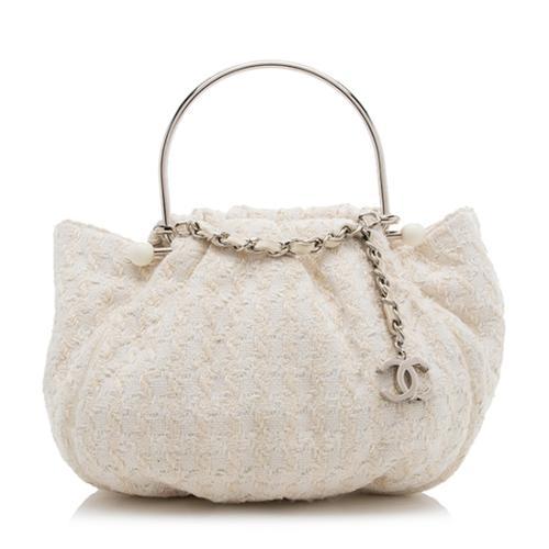 Chanel Tweed Boucle Knitting Satchel - FINAL SALE