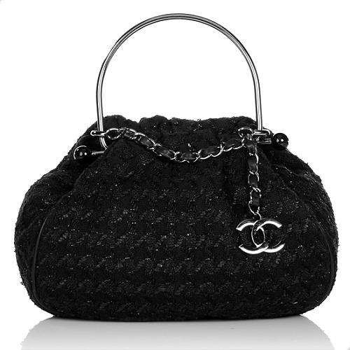 b23b1057ee22 Chanel-Tweed-Boucle-Knitting-Satchel 61460 front large 1.jpg