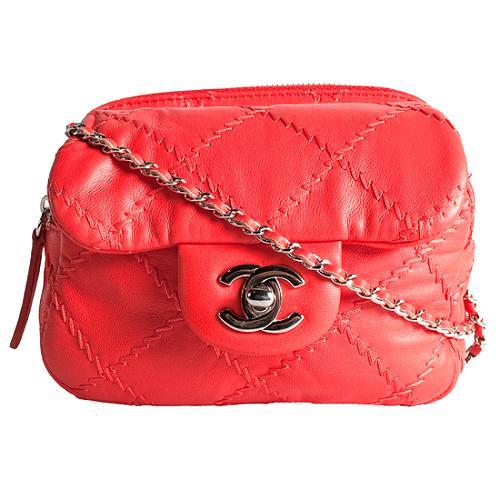 Chanel Ultimate Stitch Mini Flap Shoulder Handbag