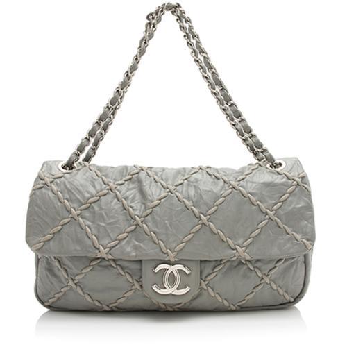 Chanel Ultra Stitch Jumbo Flap Shoulder Bag