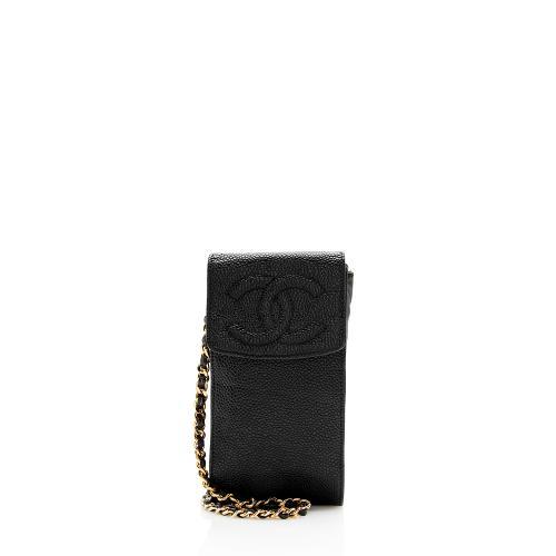 Chanel Vintage Caviar Leather CC Mini Crossbody Bag - FINAL SALE