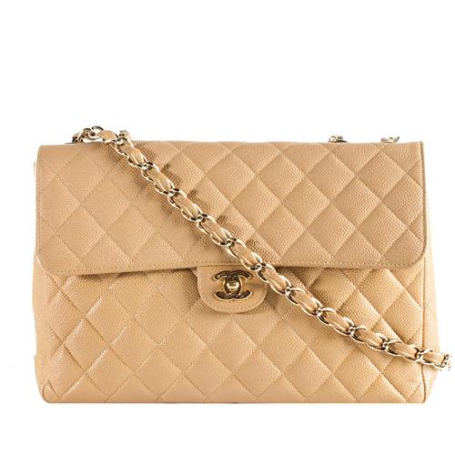 Chanel Classic Jumbo Flap Shoulder Bag