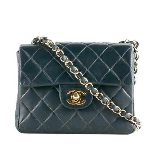 7c21fd17219b Chanel-Vintage-Classic-255-Quilted-Lambskin-Mini-Flap -Shoulder-Bag 56900 front large 1.jpg