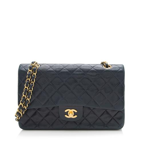 Chanel Vintage Lambskin Classic Medium Double Flap Bag - FINAL SALE