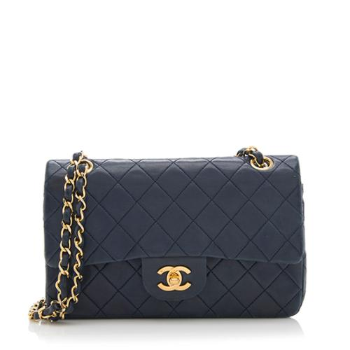 Chanel Vintage Lambskin Classic Small Double Flap Bag - FINAL SALE