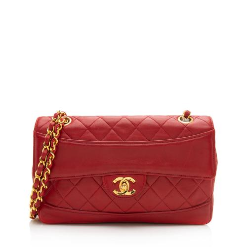 Chanel Vintage Lambskin Classic Small Single Flap Bag