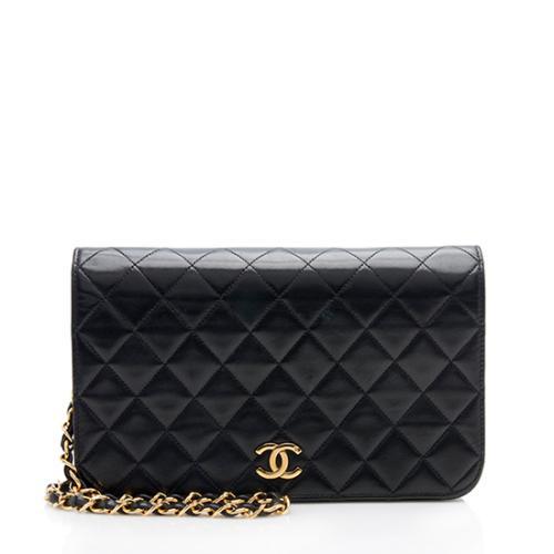 Chanel Vintage Lambskin Small Flap Shoulder Bag
