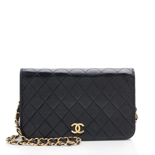 Chanel Vintage Lambskin Small Flap Shoulder Bag