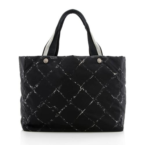 4fe9137ba1d6 Chanel Vintage Nylon Travel Line Tote