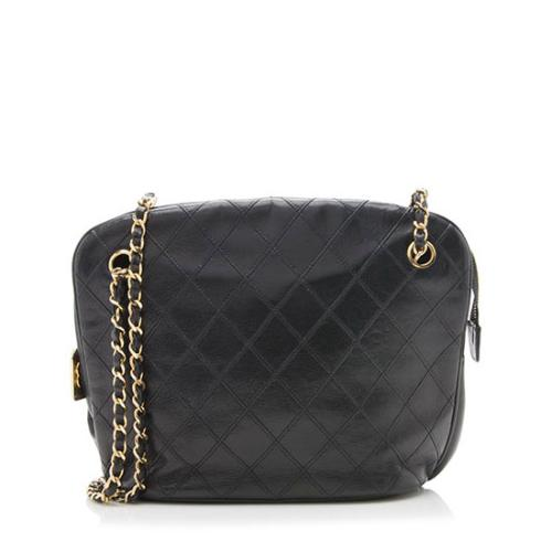 Chanel Vintage Quilted Lambskin Shoulder Bag - FINAL SALE