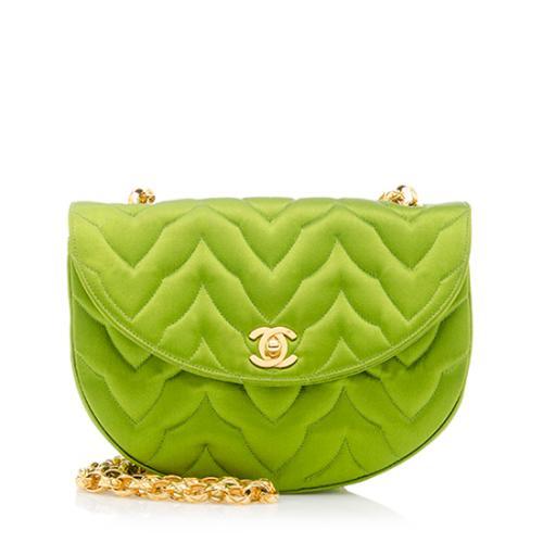 Chanel Vintage Satin Flap Bag