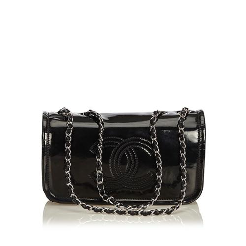 Chanel Vinyl Lipstick Chain Small Shoulder Bag