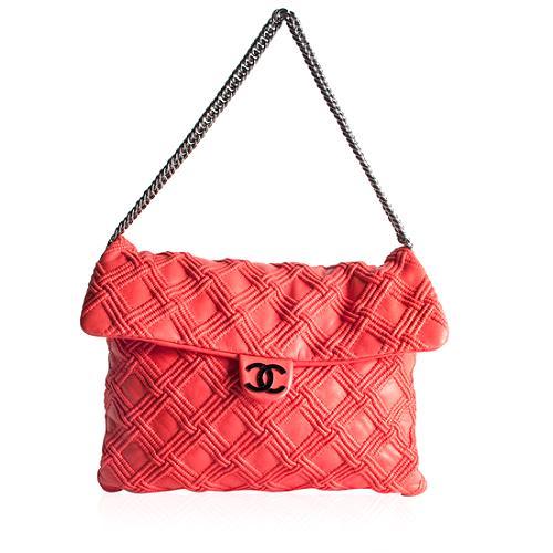 Chanel Walk of Fame Flap Shoulder Handbag