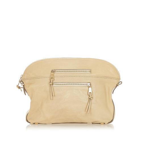 Chloe Angie Leather Clutch Bag
