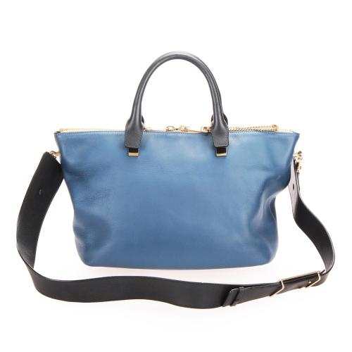 Chloe Leather Bailey Satchel