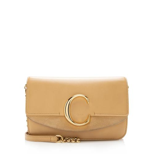 Chloe Calfskin C Wallet on Chain