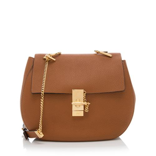 Chloe Calfskin Drew Medium Shoulder Bag