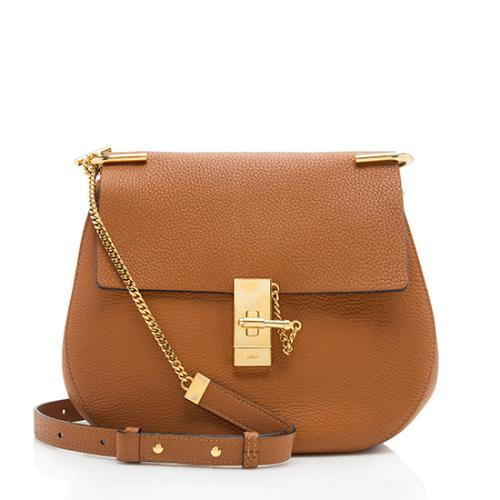 Chloe Calfskin Drew Medium Shoulder Bag