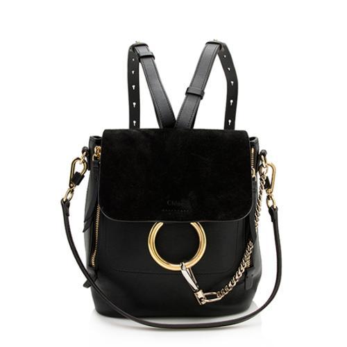 Chloe Calfskin Small Faye Backpack