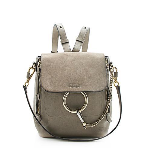 Chloe Calfskin Faye Small Backpack