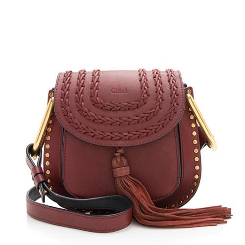 Chloe Calfskin Hudson Mini Shoulder Bag