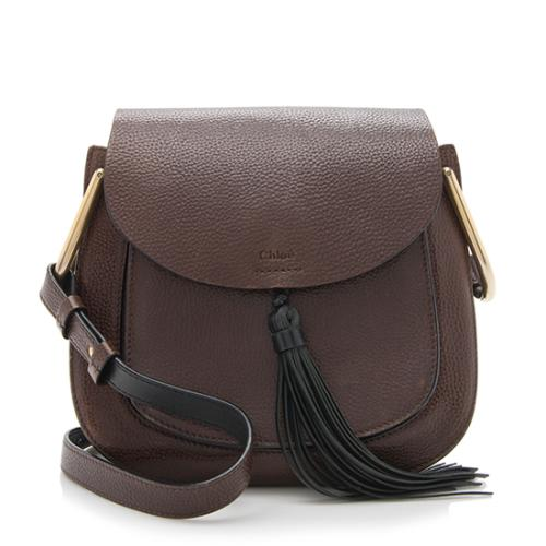 Chloe Calfskin Hudson Small Shoulder Bag
