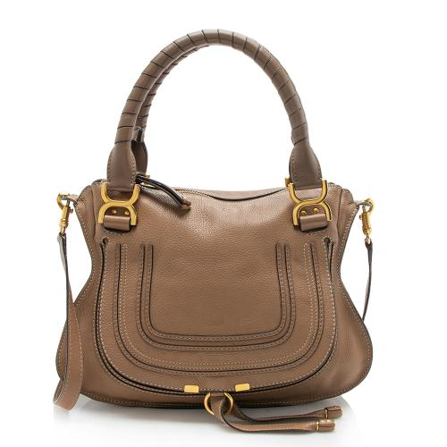 Chloe Calfskin Marcie Medium Satchel
