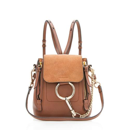 Chloe Calfskin Mini Faye Backpack