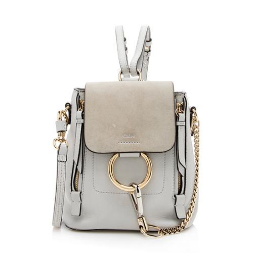 Chloe Calfskin Mini Faye Backpack