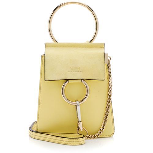 Chloe Calfskin Mini Faye Bracelet Bag