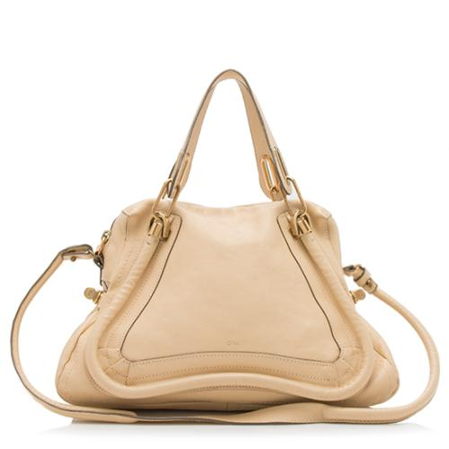 Chloe Calfskin Paraty Medium Satchel