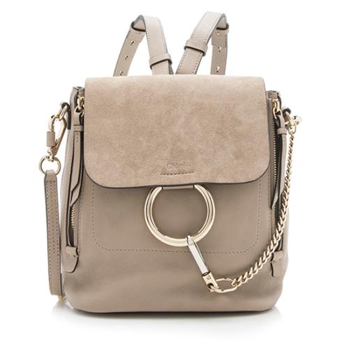 Chloe Calfskin Small Faye Backpack