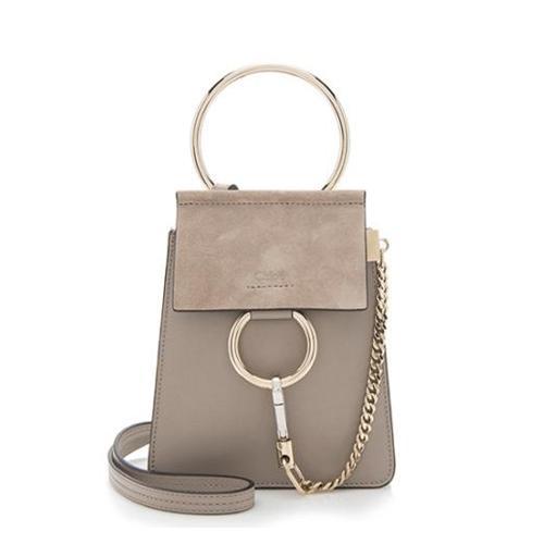 Chloe Calfskin Small Faye Bracelet Bag