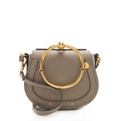 Chloe Calfskin Small Nile Bracelet Bag