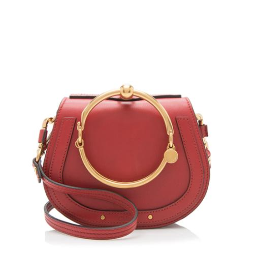 Chloe Calfskin Small Nile Bracelet Bag