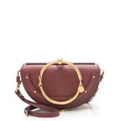 Chloe Calfskin Nile Minaudiere Small Bracelet Bag