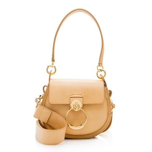 Chloe Calfskin Small Tess Shoulder Bag